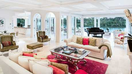 The view from the living and dining area of the home.