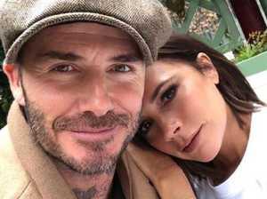 Beckham breaks silence on divorce rumours