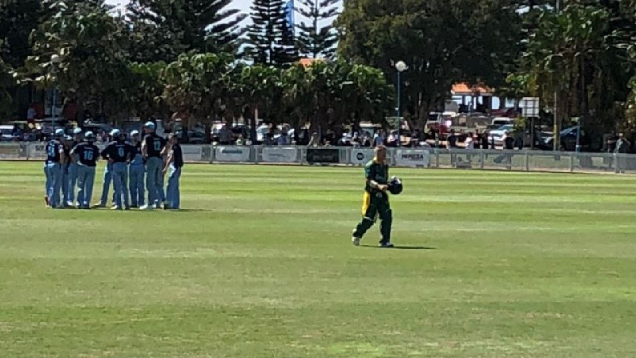 David Warner was sent on his way on 13.
