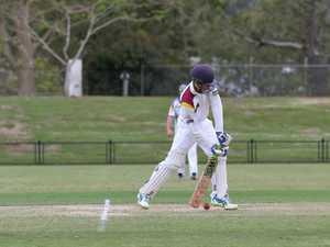 Alstonville top-order batsman Kyle Yager scored 93