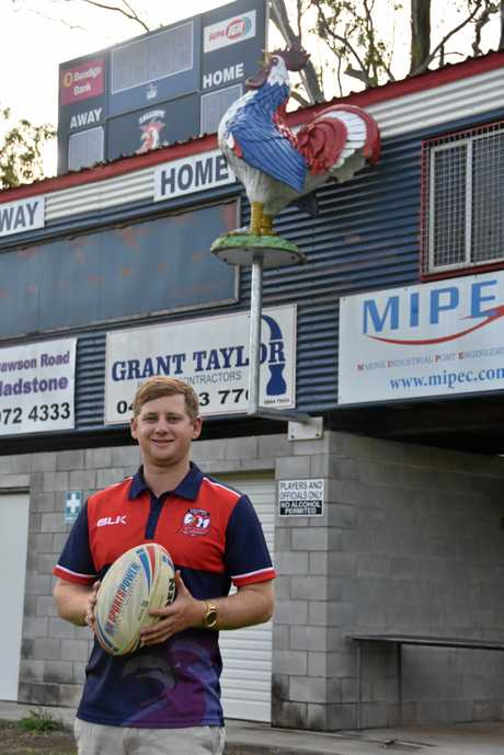 Cameron Masters is the new president of Calliope Roosters.