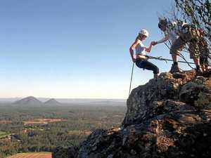 Teen hospitalised after Glass House Mountains fall