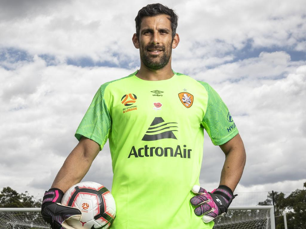 Brisbane Roar goalkeeper Jamie Young. Picture: AAP