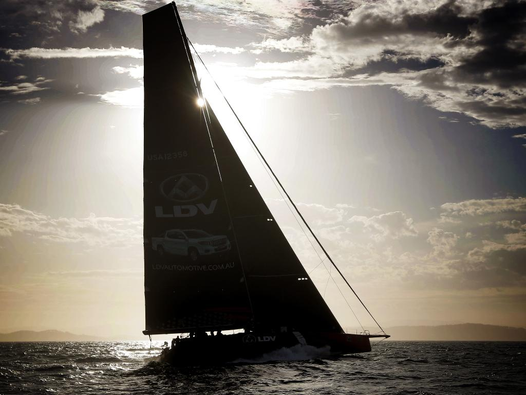 Comanche won last year's race south in the protest room. Picture: Richard Jupe