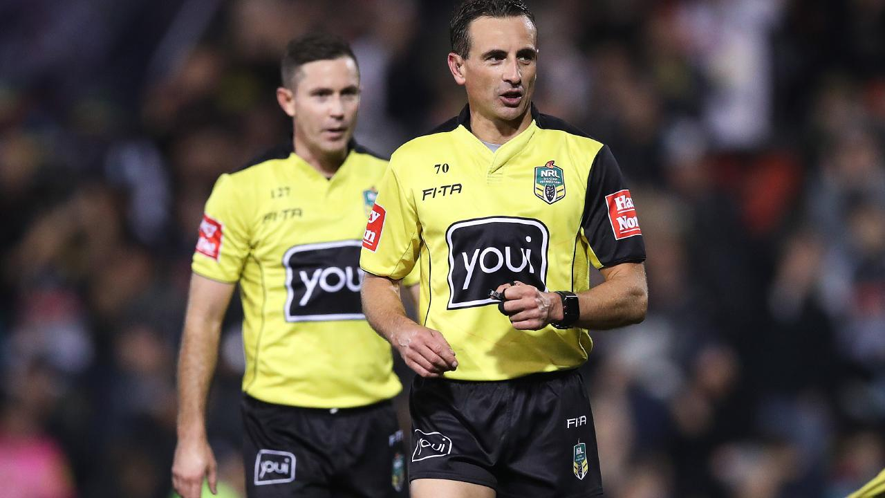 The referees are in crisis. Picture by Phil Hillyard.