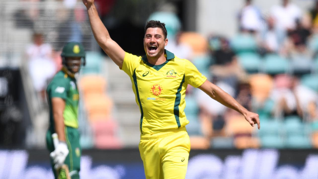 Marcus Stoinis was arguably Australia's best player this series, topping the wicket charts with eight scalps.