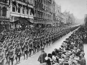 Rare pics of ANZAC diggers during WWI