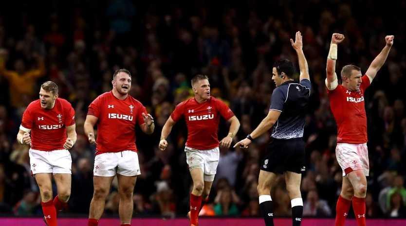 Huge result for Wales, ending a 13-game losing streak against the Wallabies.