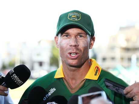 Warner expects to see out his 12-month suspension.