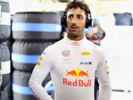 It hasn't been a great time for Aussie Daniel Ricciardo.