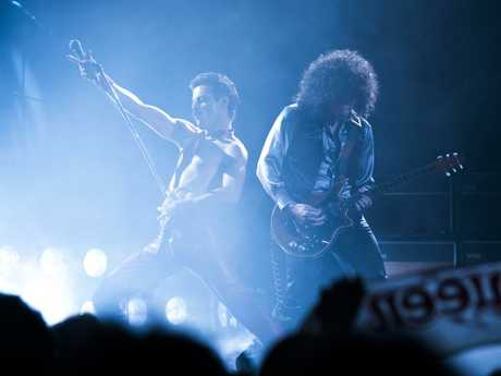 Despite the problems with narrative, the concert scenes are electric. Picture: Alex Bailey / Twentieth Century Fox via AP