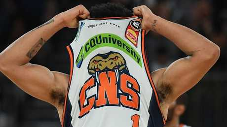 Melbourne United kept a close eye on Melo Trimble throughout the match. Picture: Getty