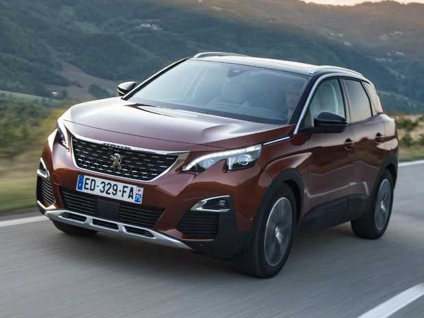 Peugeot 3008 (overseas model shown)