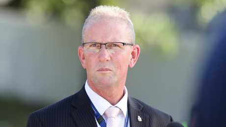 Queensland Police Union president Ian Leavers. Picture: AAP/Ric Frearson