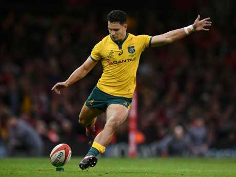 Matt Toomua kicked Australia even with five minutes left.