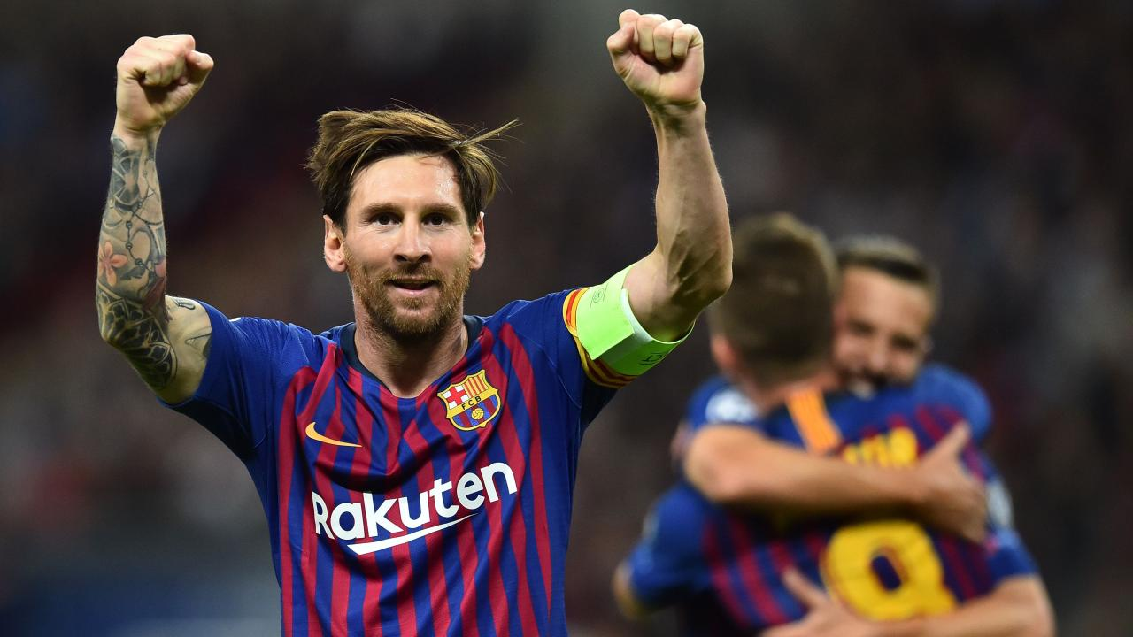 Messi has plenty of reasons to be cheerful.
