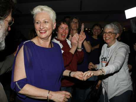 Kerryn Phelps' Wentworth win has rattled the Morrison government. Picture: AAP