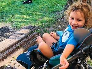 Generosity brightens brave Ethan's world