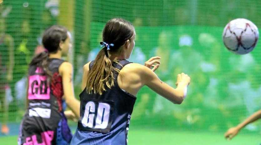 St Mary's College student Molly Green is impressing on the netball courts.