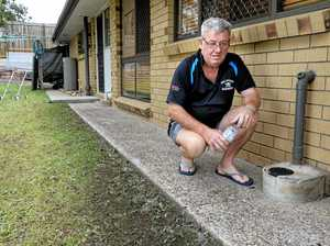 Man wakes to nightmare of home splattered in sewage