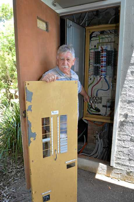 Police have been contacted over an incident at one of the resort's switch boxes.