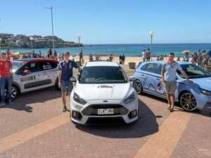 World's best rally drivers roll into town