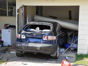 Overnight destruction as man damages cars, home in chase