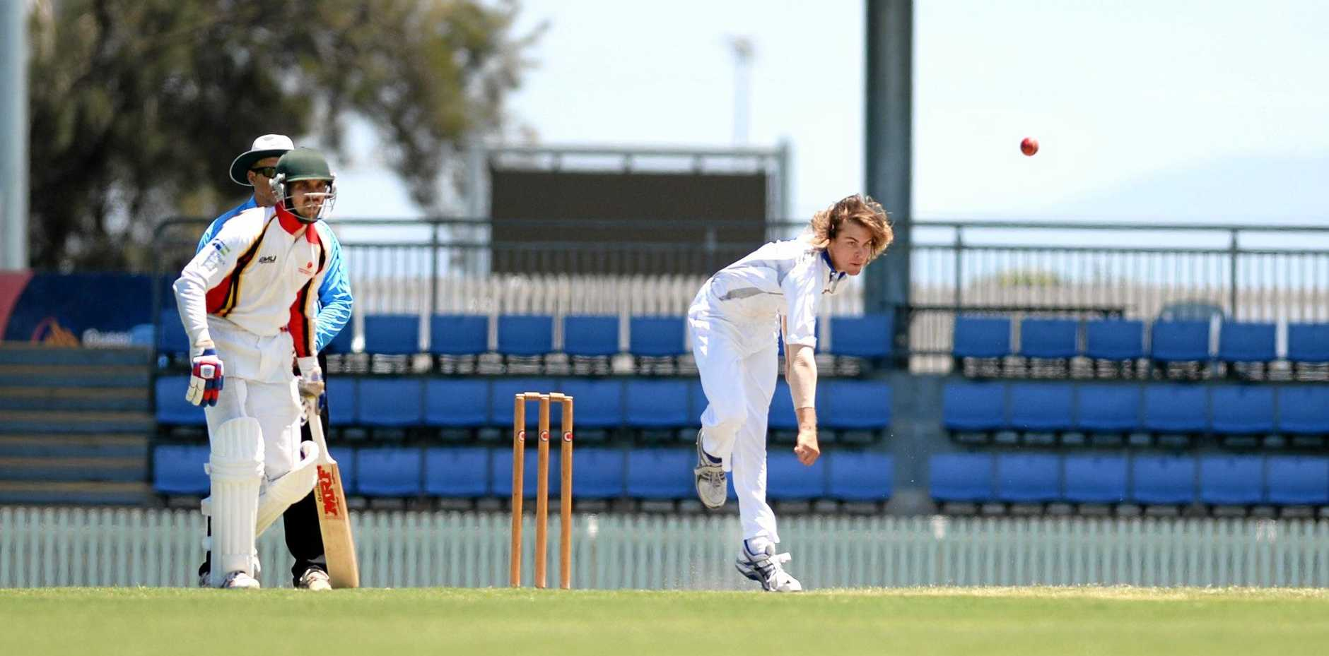 Mackay Whitsundays' Lane Kohler bowled his way in to Queensland Country Under-21 selection in the North Queensland Zone Open Championships at Harrup Park on November 3.