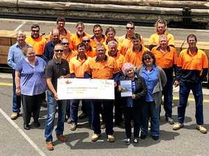 Lifesaving donation for Westpac Helicopter