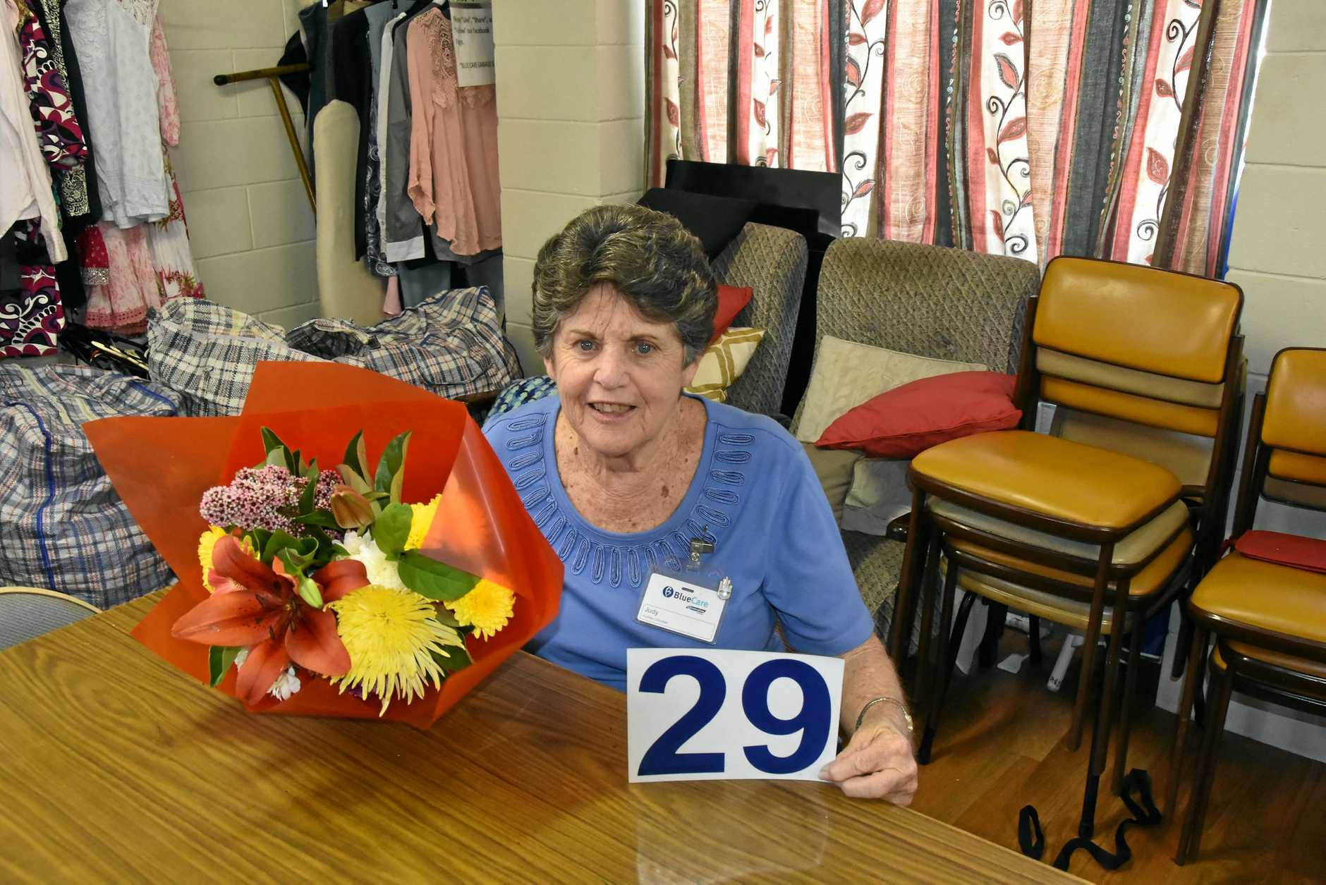 CHARITY WORK: Blue Care Auxiliary volunteer Judy Broome has retired after 29 years of community work there.