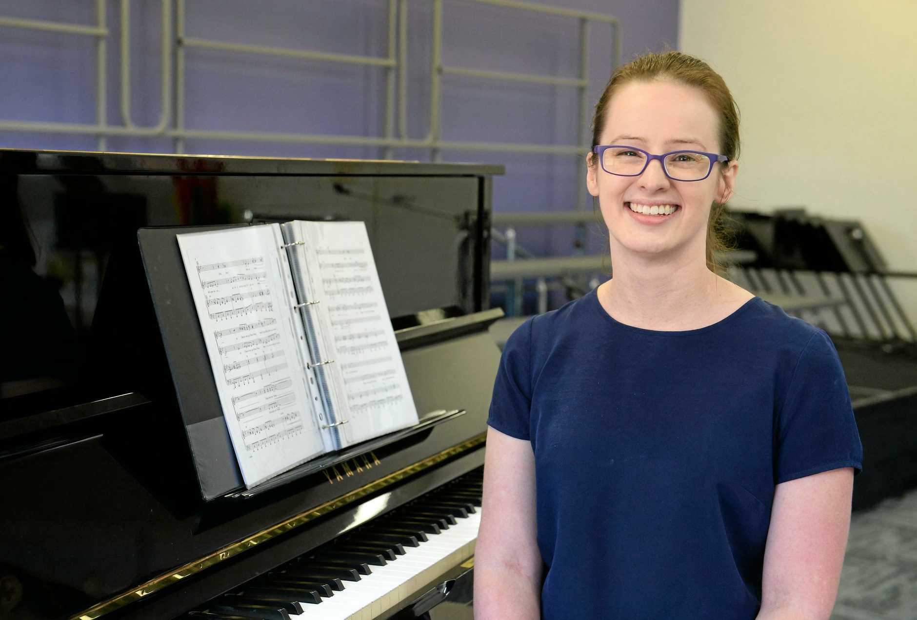 Music teacher Christina Bond.