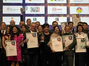 Council reps travel to Helsinki to collect award