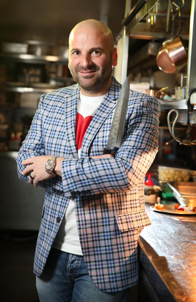 Celebrity chef George Calombaris admits he has made mistakes in the past. Picture: Richard Dobson