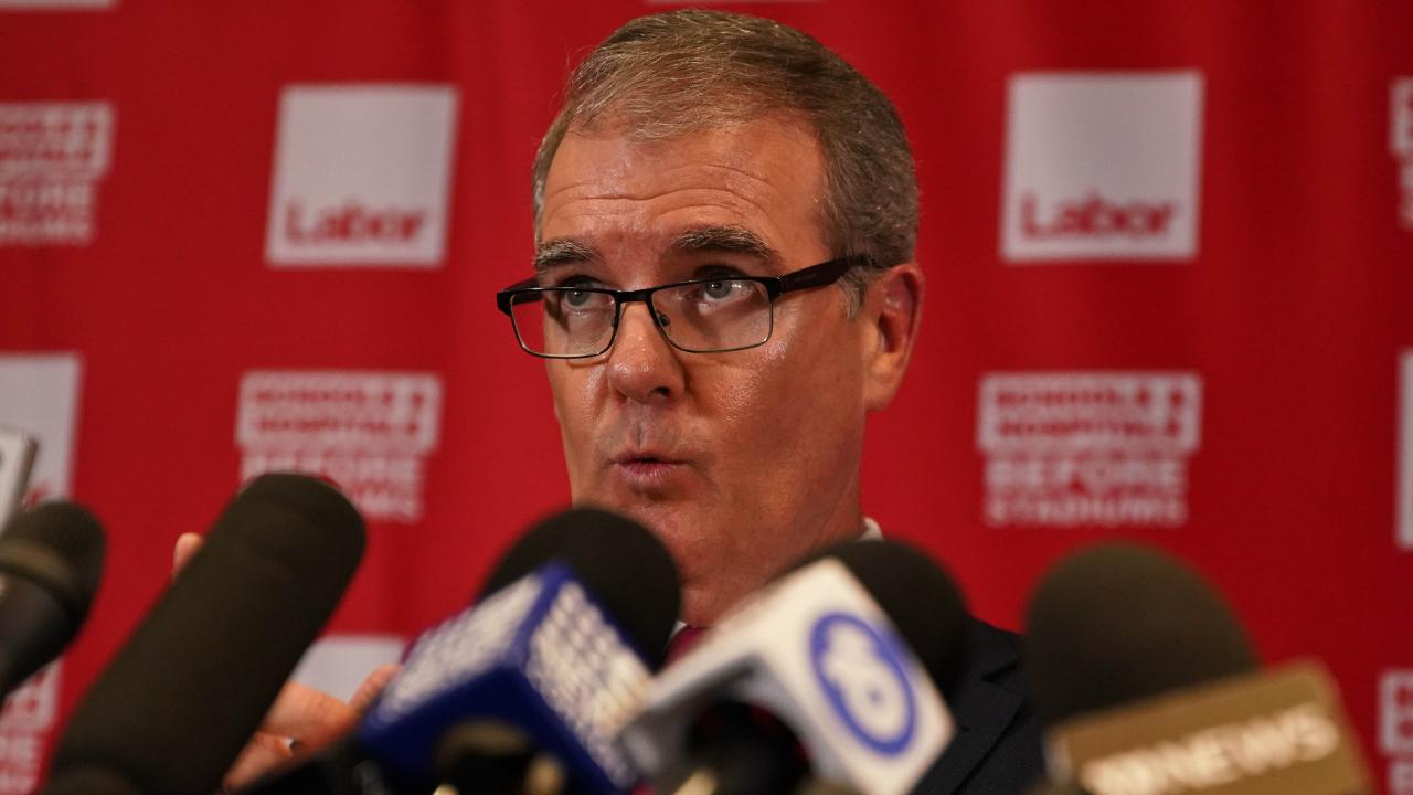 New Labor leader Michael Daley is supporting and looking after the welfare of Mr Foley. Picture: AAP Image/Ben Rushton