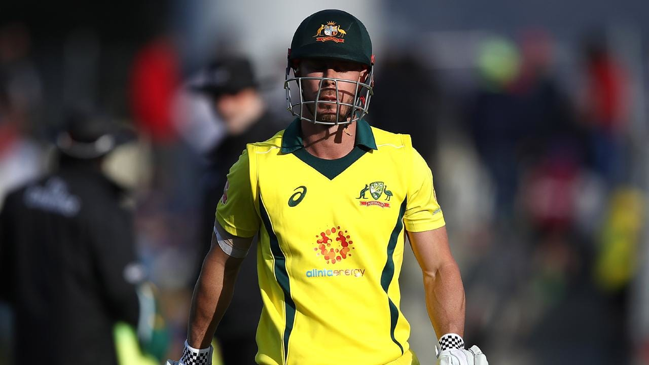 Chris Lynn has failed to score a half century in 18 innings for Australia. Picture: Getty