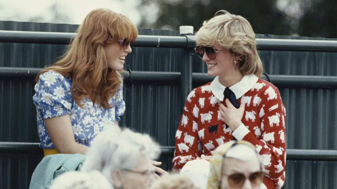 Fergie and Diana in 1983. Picture: Georges De Keerle/Getty Images