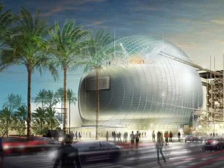 The Academy Museum of Motion Pictures opens in 2019.