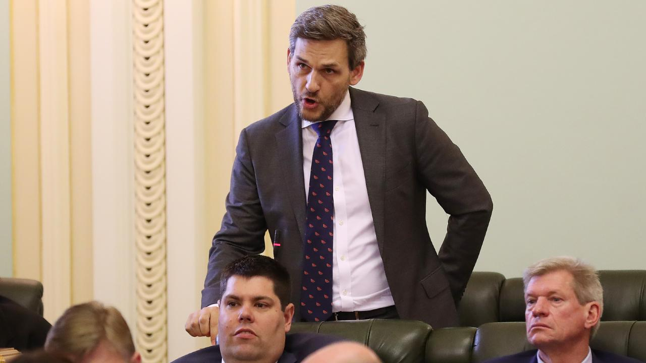 Greens MP Michael Berkman, who this year introduced a Bill to expand the donations ban to include all corporate donors. Picture: Liam Kidston