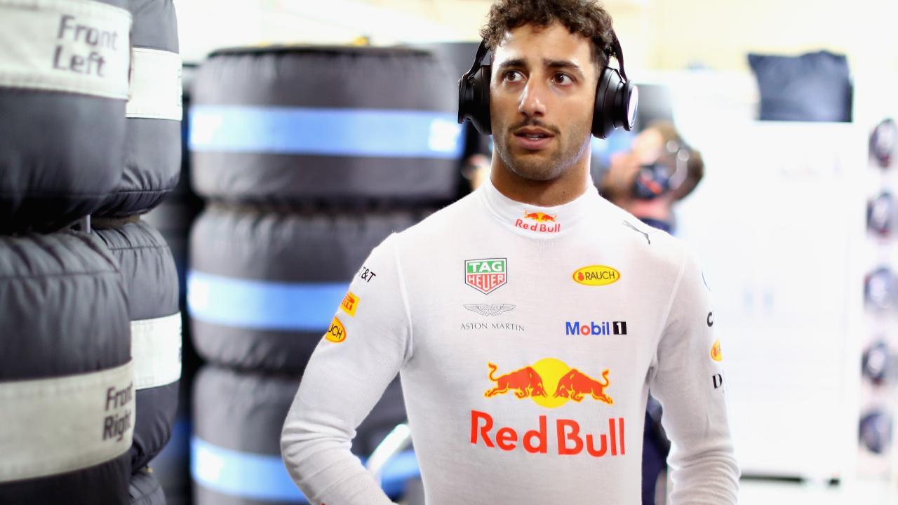 Daniel Ricciardo actually finished a race.