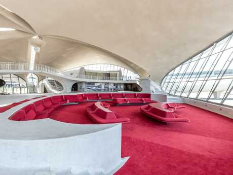 Coming soon: TWA Hotel at John F. Kennedy Airport. Picture: Max Touhey
