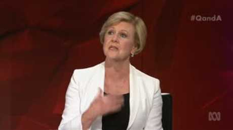 Gillian Triggs discussed the problems for men when accusations are aired in the public domain, but said women also often come out second or third best.