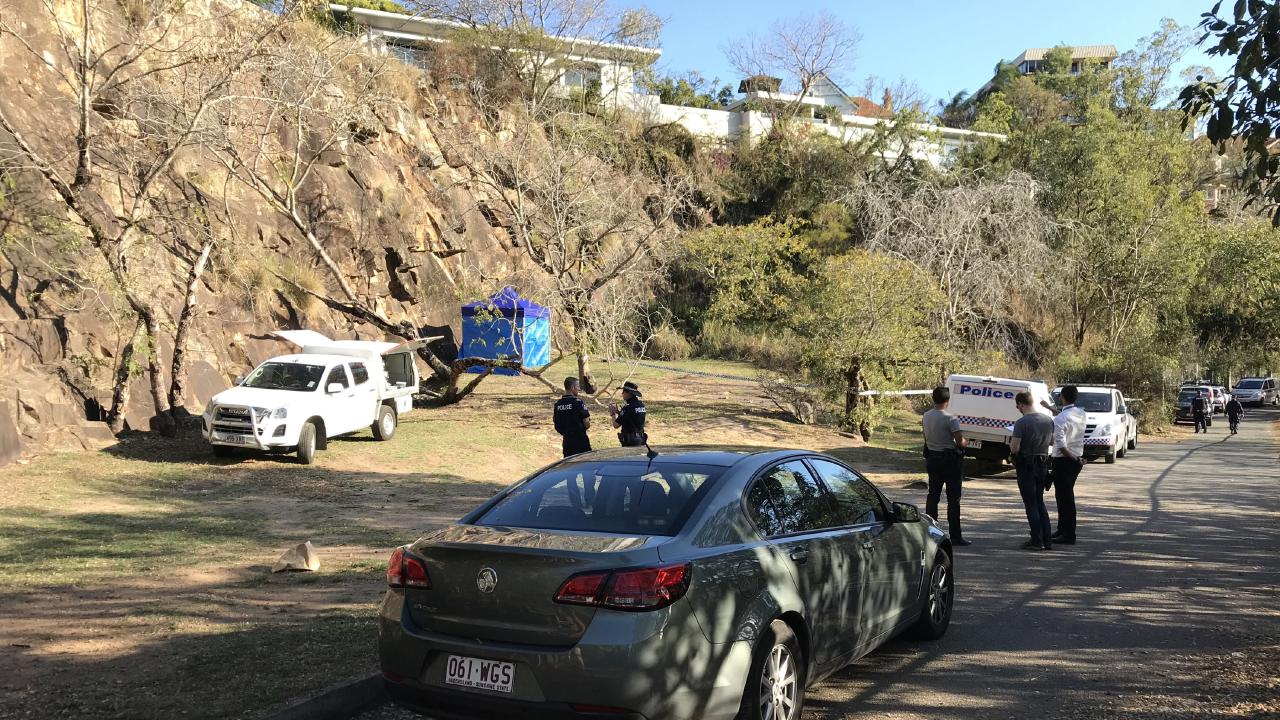 Constance Watcho's remains were found at the Kangaroo Point cliffs in Brisbane's south.