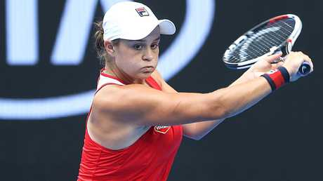 Ash Barty has been nominated for the Newcombe Medal. Picture: Ian Currie