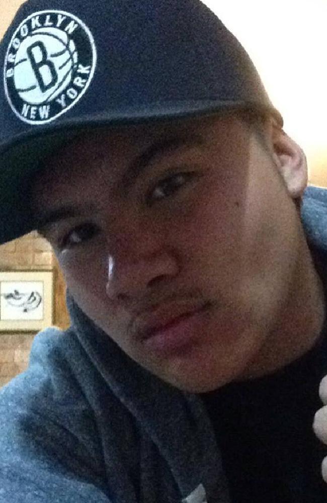 """Jasiah Wells allegedly struck his partner's ex-boyfriend with a """"heavy brass pot""""."""