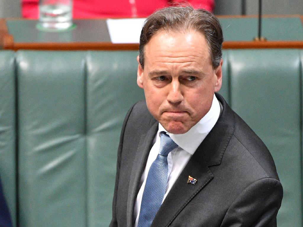 Health Minister Greg Hunt has  defended the controversial My Health Record system.