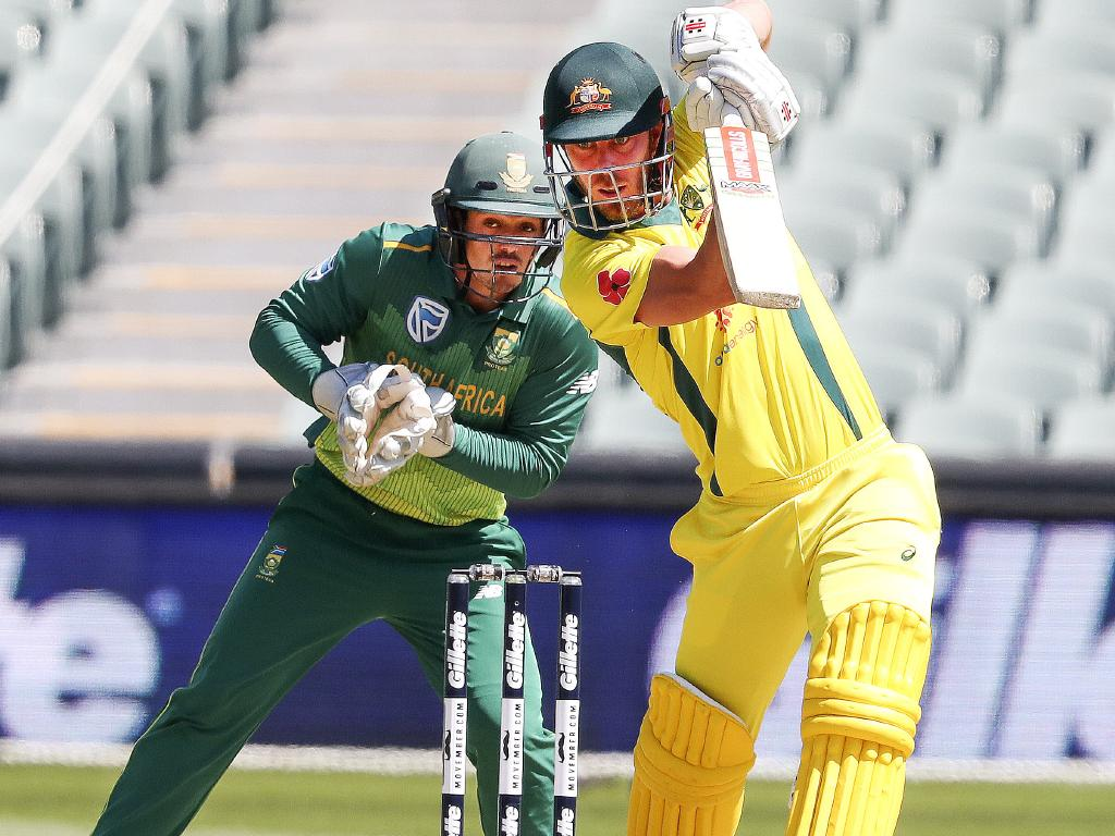Lynn in action against South Africa.