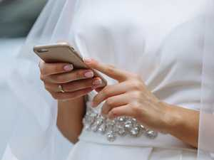 RUSH HOUR: Bride gets horror 'accidental' text