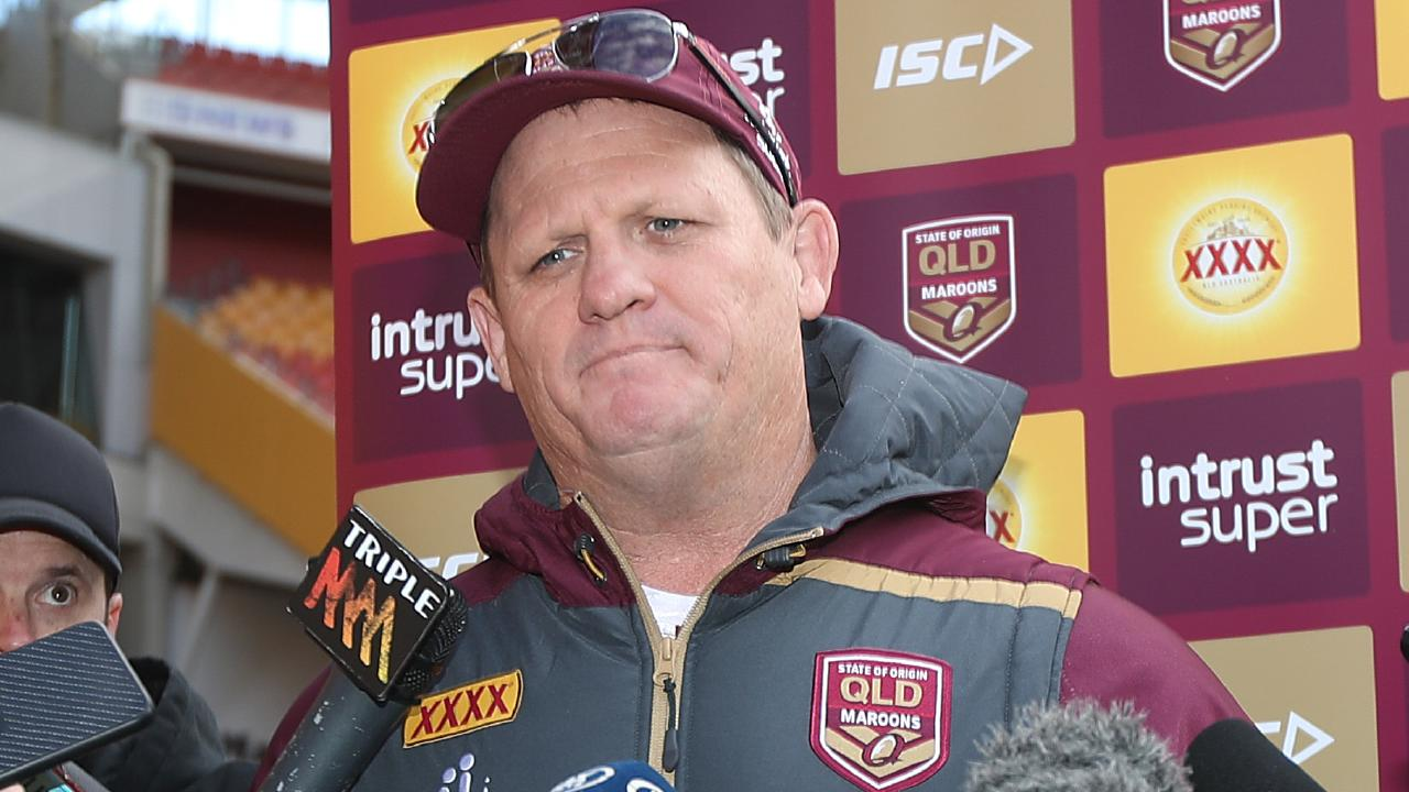 Queensland coach Kevin Walters has shaken up his coaching staff for Origin 2019. Picture: Peter Wallis