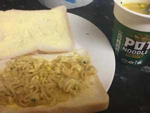Fury over woman's 'vile' sandwich filling