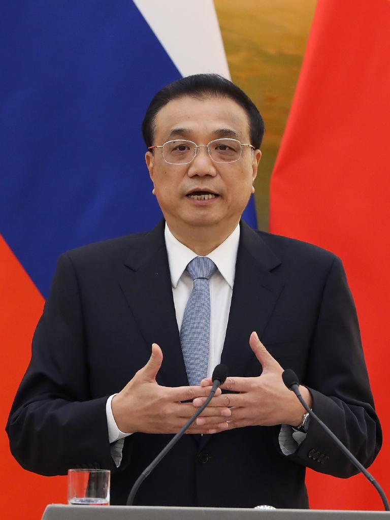 He hopes to speak and meet with Chinese Premier Li Keqiang. Picture: Andrea Verdelli/Getty Images